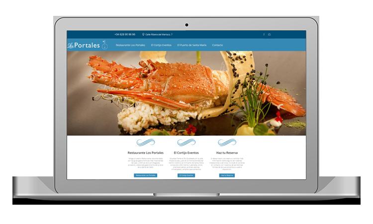 web para restaurantes cadiz